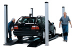 Saab, Jeep, Chrysler and Dodge MOT testing in Shrewsbury, Shropshire, UK.