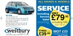 All makes servicing from £79.95+VAT